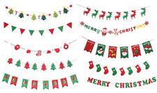 Christmas Felt Bunting Banner Xmas Flag Buntings Party Decoration