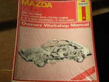 HAYNES MANUAL MAZDA GLC (FWD) 81-84 MODELS