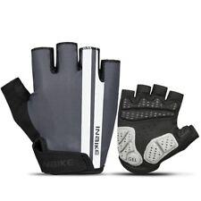INBIKE Cycling Gloves Bike Gloves MTB Gel 5MM Pads Half Finger Night Reflective