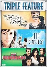The Audrey Hepburn Story /If Only/ The Suburbans DVD 3-Disc JENNIFER LOVE HEWITT
