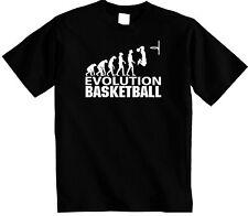 Men's Basketball T-Shirt | Evolution of man Basket ball T Shirt | FREE UK P&P