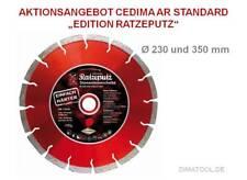 Cedima AR-Standard Gen3 Ratzeputz Edition versch. Durchmesser Trennscheibe Beton