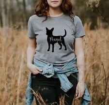Personalized Chihuahua  Chiwawa T-Shirt S M L XL  Dog Mom Custom Dog Lover