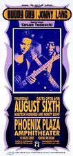 Buddy Guy Concert HANDBILL Jonny Lang Susan Tedeschi Mark Arminski