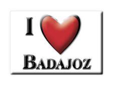 SOUVENIR ESPAÑA EXTREMADURA IMAN MAGNET SPAIN CORAZON I LOVE BADAJOZ (BADAJOZ)