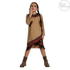 Mottoland 116011 Kostüm / Kleid Indianer Mädchen Gr. 104 - 128