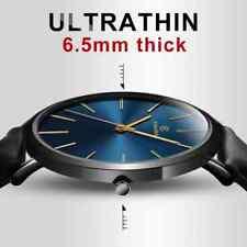 New 2019  Men's Watch 6.5mm Ultra-thin Fashion  Simple Business Men Quartz