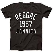Reggae 1967 JAMAICA T-shirt 100% Premium Coton Dub Ska Rocksteady Marley