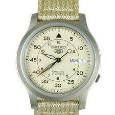 Seiko 5 Nylon Strap Military Watch SNK803K2 SNK805K2 SNK807K2 SNK809K2