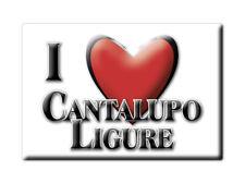 CALAMITA PIEMONTE FRIDGE MAGNET MAGNETE SOUVENIR LOVE CANTALUPO LIGURE (AL)