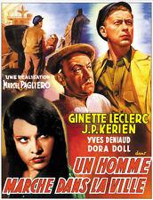 Un homme dans la ville Ginette Leclerc movie poster