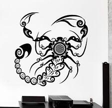 Wall Decal Scorpion Animal Ornament Tribal Mural Vinyl Decal (z3184)