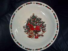 Ten Strawberry Street O Christmas Tree Serving Bowl EC