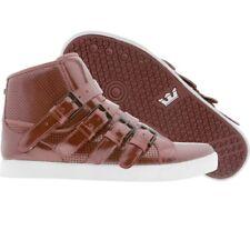 $205 Supra Premium Strapped NS burgandy Men skate Fashion shoes sz 4 5 6 13