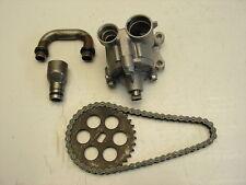 #1235 Honda CB650 CB 650 Nighthawk Oil Pump Assembly & Drive Chain