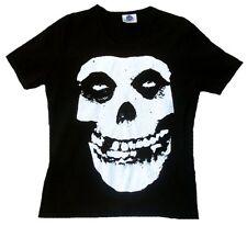 Rare Unworn Official Merchandise MISFITS SKULL Rock Star Punk ViP T-Shirt g.S 36
