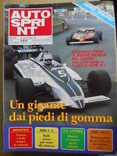Autosprint 27 1981 Bettega Villeneuve Didier Pironi