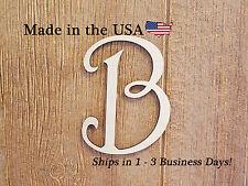 Wood Letters, Unfinish Wood, Nursery Decor, Wedding Decor, Door Hanger, LF1002