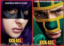 Movie Poster KICK ASS 2 Hit Girl & Kick-Ass 2013 Super Hero Action Crime Comedy