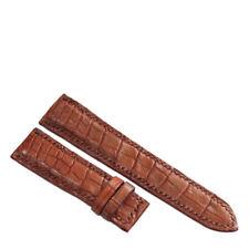 HandMade Genuine Crocodile Alligator Skin Leather Watch Strap Band 18mm/24mm