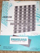 Panelfab Products Inc Catalog-Asbestos/Porcelain Panels