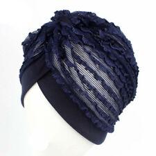 Women Indian Cancer Chemo Cap Bonnet Beanie Turban Hat Islamic Arab Scarves