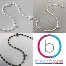 "Vertical Blind Bottom Link Plastic Chain - 3 1/2"" (89mm) & 5"" (127mm)"