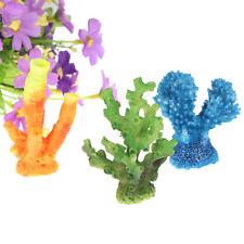 New listing Artificial Resin Coral For Aquarium Fish Tank Decoration Underwater OrnamenBl^