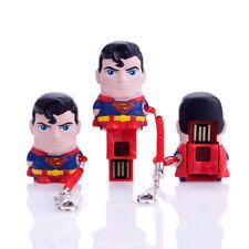 MIMOMICRO Superman Chiavetta USB Lettore Memorie Pen-Drive Micro-SD Card Reader