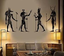 Vinyl Wall Decal Egypt Egyptian Gods Anubis Ra Seth Apis Stickers (1239ig)
