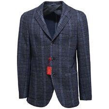 7526L giacca uomo blu ALTEA lana seta giacche jackets coats men