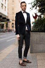 New Stylish Wedding Designer Grooms Dinner Party Wear Men's Blazers Jackets M56
