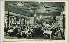 Rußdorf LIMBACH Sachsen AK 1920 Gasthof RUSSDORF Personen Konzert- u. Ballhaus