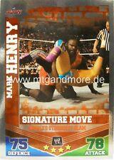 Slam ATTAX Mayhem Mark Henry-World 's Strongest Slam