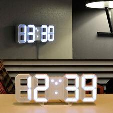 MOOAS LED Clock Standing & Hanging Mode Alarm Wall Digital Clock Home Decor