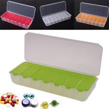 Plastic 7-day A Week Pill Box Tablet Medicine Case Storage Dispenser Organizer