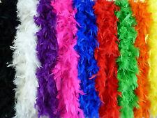 Federboa 1,8 m viele Farben Federstola Federschal Kostüm Karneval 20er Jahre