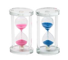 12cm SAND TIMER - COLOURFUL FUN MESMERISING SAND CLASSIC HOURGLASS CLOCK 9840