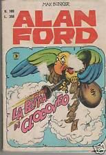 ALAN FORD  #  109  LA BEFFA DI CLODOVEO