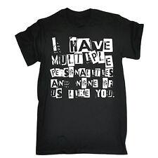 Personnalités multiples aucun comme vous T-Shirt RUDE Emo Top Drôle Cadeau Fête des Pères