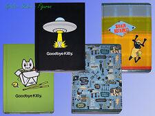 Goodbye Kitty oder Shaun das Schaf 128 Seiten Notizbuch, Kladde Tagebuch