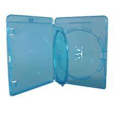 Doppio Blu Ray Case 14 MM SPINA CON INTERNO Swing VASSOIO contiene 2 Dischi Amaray