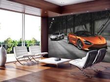 McLaren 720S Sports Car Wallpaper Woven Self-Adhesive Wall Mural Art Decal M187