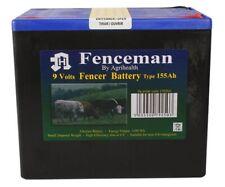 Electric Fence Battery 9V Energiser Alkaline Long Life Spare 155Ah 130 90 55Ah