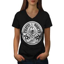 North Pirates Fashion Women V-Neck T-shirt NEW   Wellcoda