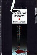 Les Voleurs De Secrets * O LECRIVAIN * Cascade Policier * Roman Jeunesse