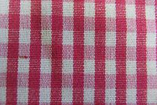 Fushia & White Gingham  Check Curtain/Craft Fabric
