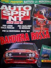 Autosprint 21 1989 Inserto 'Auto di Ieri'. Test ok Larini sulla Ferrari
