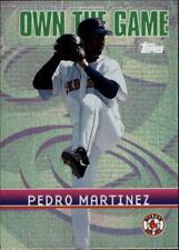 2002 Topps Own the Game #OG28 Pedro Martinez - NM-MT