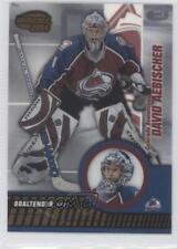 2003-04 Pacific Invincible #20 David Aebischer Colorado Avalanche Hockey Card